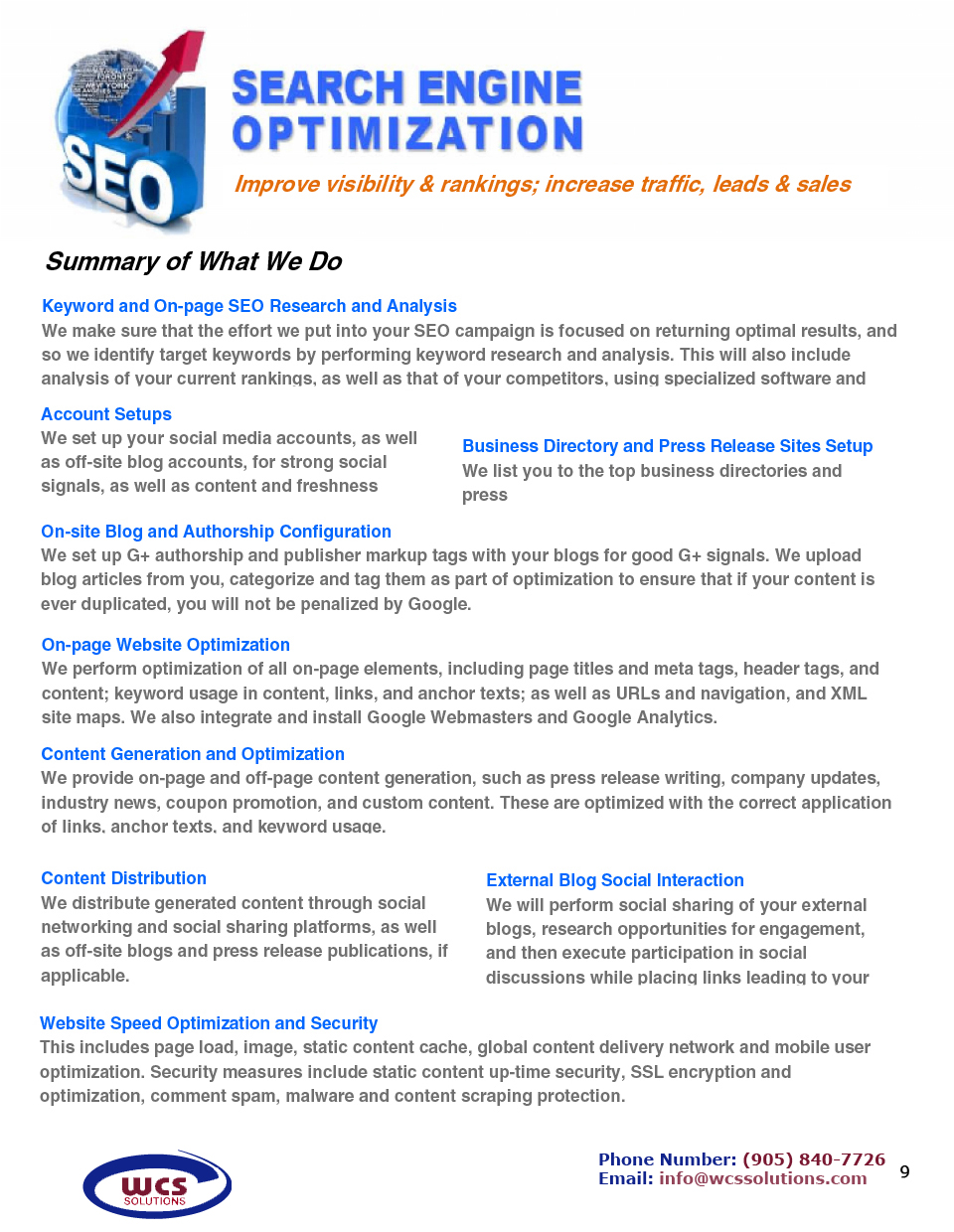 toronto search engine optimization services for a better online brand